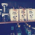Fresh Tea locally made at SoulTEA'se cafe