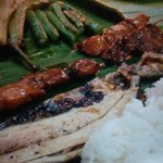 Boodle fight at Jack's Grandview
