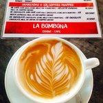 Cafe con arte.