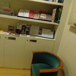Sedia e bibliotechina