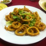 Fried Squid - Not so good