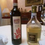 gli ottimi vini proposti