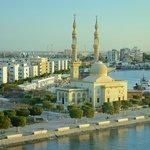la ville de Suez