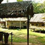entering the Heritage Village