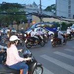 local traffic near hotel