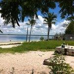 Vista da praia de Fernão Veloso