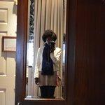 Decoração vitoriana (espelho quarto)