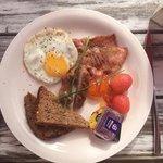 Breakfast.Yum!
