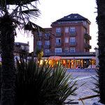Tramonto vista Hotel delfino