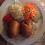 Пирожки из картофеля с мясной начинкой