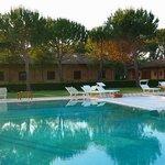 la piscina di Casa Livia