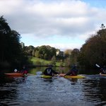Kayaking on the River Laune