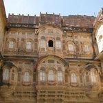Meherangarh Fort (inner courtyard)