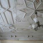 потолок в нашем номере