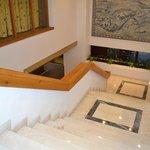 escalier de la reception
