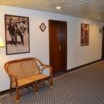 parties communes,couloir des chambres