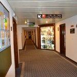 couloir réception