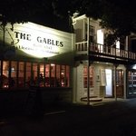 The Gables by night