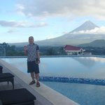 Infinity Pool with Mayon View