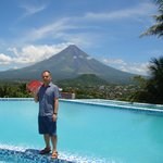 Infinity Pool with a Better View of Mayon
