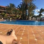 relajante piscina
