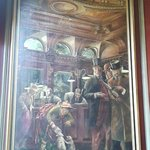 Painting in the Old Joint Stock Pub