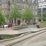 Outside Town Hall Birmingham