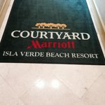 Welcome Mat from beach