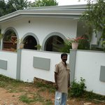Front View of Misty Home with Mr Thangappan.K