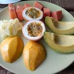frutta a colazione!!