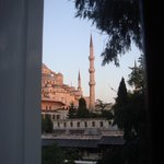 View from room - The Blue Mosque