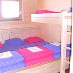 Une chambre pour 4 personnes