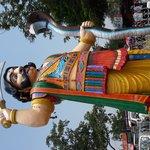 mahishasur statue