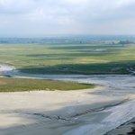 Les polders vus du parvis
