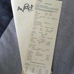 Bestellkarte Frühstück