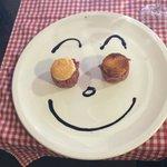 Carpaccio para mi hijo... Gracias Chef Luca!!!