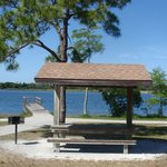 40 personal picnic areas with BBQ grills