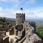 Vista castelo dos mouros