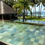 The main pool by the bar