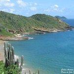 Canto esquerdo da Praia de João Fernandes visto do Mirante.