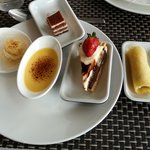 Some of the desserts
