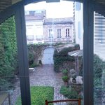 View from the room, Inner patio
