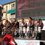 Spinning in piazza a Lerici