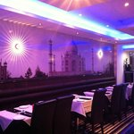 The Taj Mahal brought to life in the beautifully decorated Restaurant