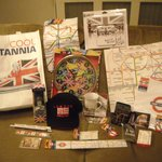 Runners up prizes for the London Underground Treasure Hunt