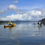 Calm paddling