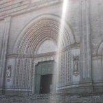 San Fortunato - Effetti di luce sul portale