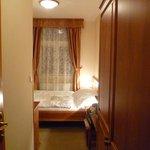 Camera piccola ma confortevole