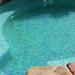 Jacuzzi con agua turbia