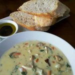 Superb Seafood chowder